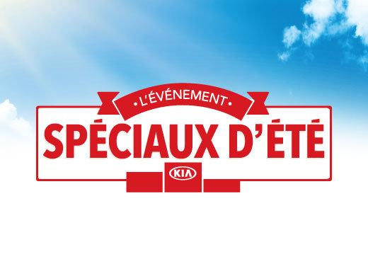 L'événement SPÉCIAUX D'ÉTÉ Kia