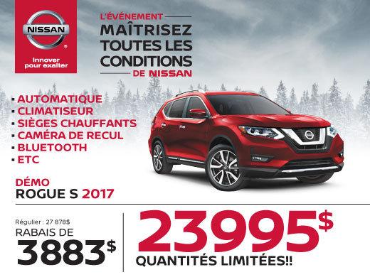 Nissan Rogue 2017 démo