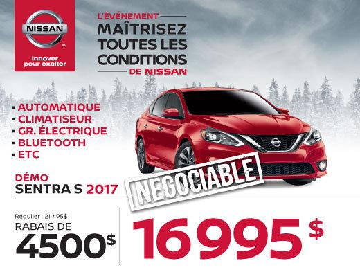 Nissan Sentra 2017 démos