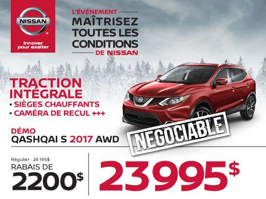 Nissan Qashqai 2017 démos
