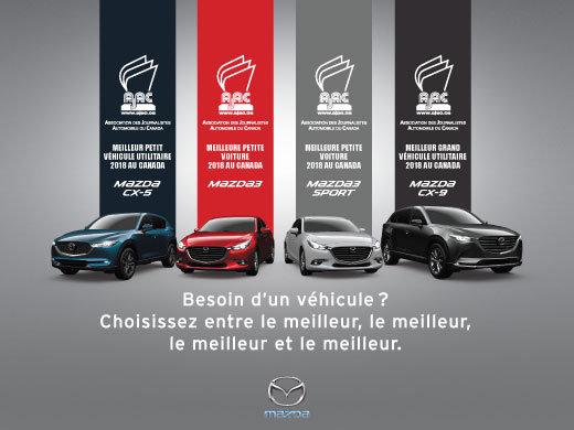 La qualité triomphe chez Mazda!