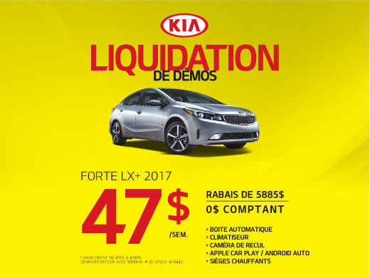 Forte LX+ 2017