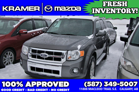 2012 Ford Escape Limited V6 4X4 *LOW MILEAGE*