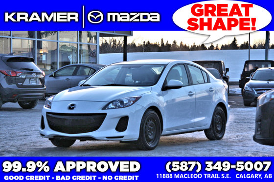 2013 Mazda Mazda3 GX w/Manual Transmission