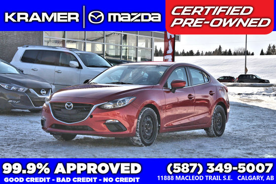 2015 Mazda Mazda3 GS w/Navigation & Back-up Camera!!