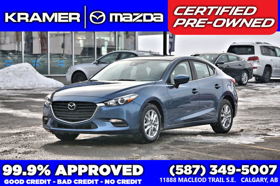2017 Mazda Mazda3 GS w/Moonroof & Heated Wheel