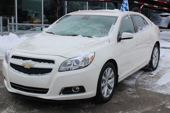 Chevrolet Malibu 2013 LT*2.5L*AC*BLUETOOTH*CUIR*CRUISE*CUIR*