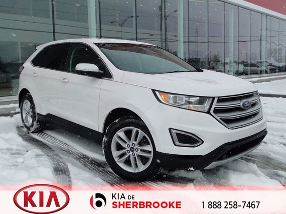 Ford Edge 2015 SEL ECOBOOST* CUIR*MAGS*CRUISE*A/C*