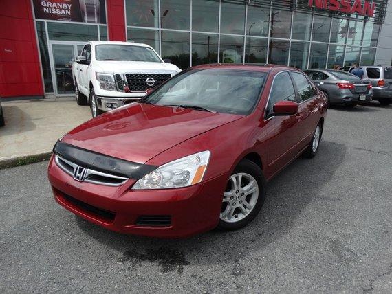 Honda Accord Sdn 2007 EXL/GPS/TOIT OUVRANT/CUIR/SIEGES CHAUFFANT/MAGS/