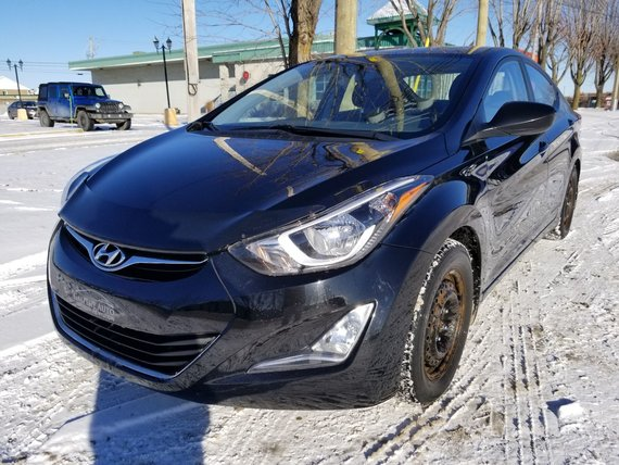 Hyundai Elantra 2015 SPORT - AUTOMATIQUE - TOIT- JAMAIS ACCIDENTÉ!!