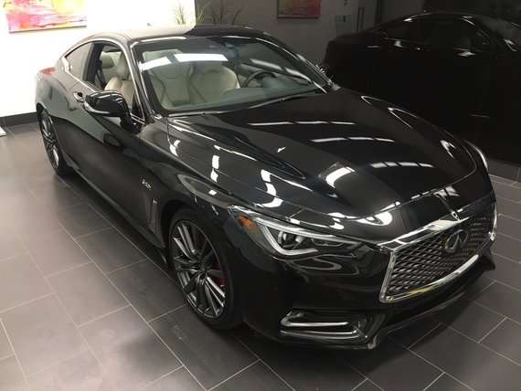 Infiniti Q60 Coupe 2017 3.0t Red Sport 400