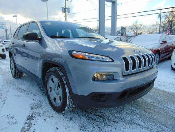Jeep Cherokee 2015 SPORT / JAMAIS ACCIDENTÉ