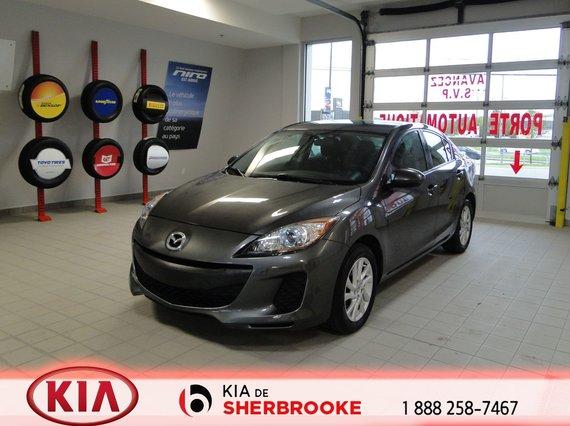 Mazda Mazda3 2012 GS-SKY*A/C*CRUISE*BLUETOOTH*MAGS*