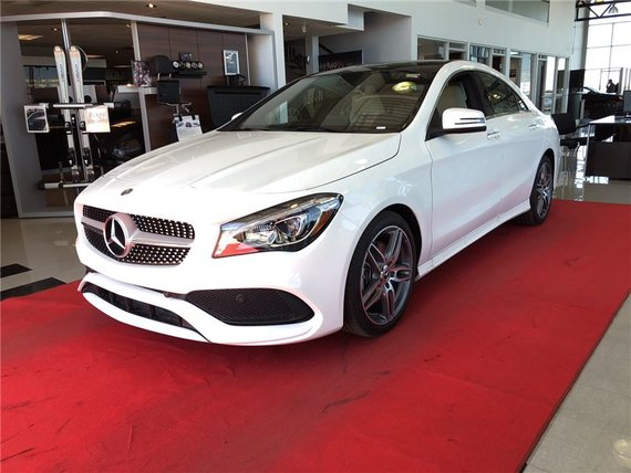 Mercedes-Benz CLA250 2018 4matic Coupe