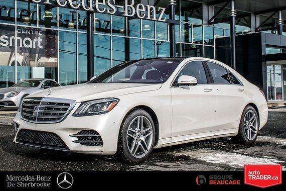 Mercedes-Benz S450 2018 4matic Sedan 10 000$ de rabais