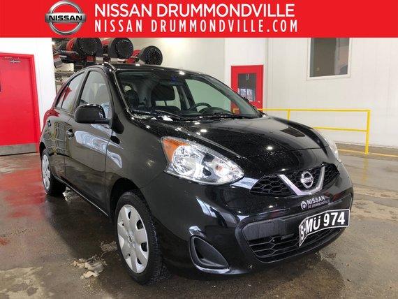 Nissan Micra 2015 SV -CERTIFIÉ - JAMAIS ACCIDENTÉ !!