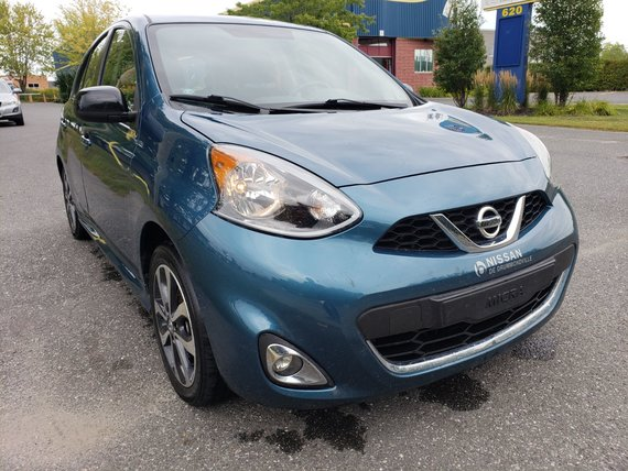 Nissan Micra 2015 SR - CERTIFIÉ - MANUELLE- MAGS- JAMAIS ACCIDENTÉ!!