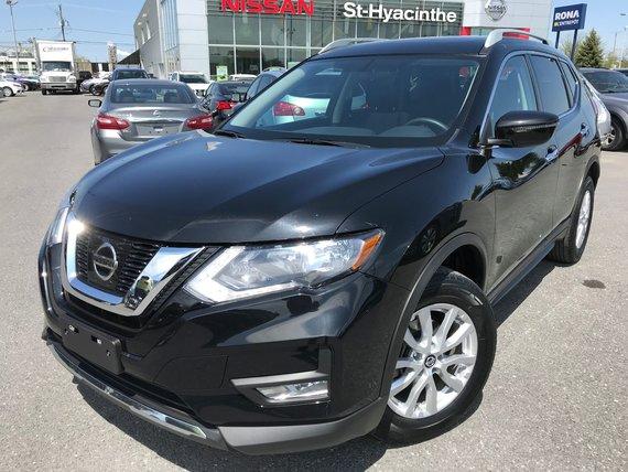 Nissan Rogue 2017 SV AWD/4X4 TOIT OUVRANT CAMÉRA JAMAIS ACCIDENTÉ