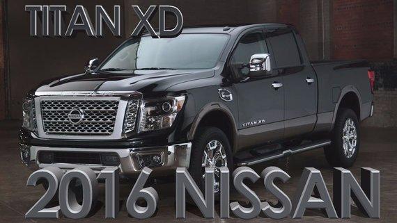Nissan Titan XD 2016 DIESEL CUMMINS 5.0 LITRES/ PLATINE/ 555lb-tq
