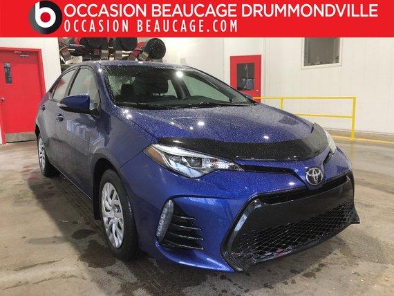 Toyota Corolla 2017 SE - AUTOMATIQUE - CUIR/TISSU - CAMÉRA!!