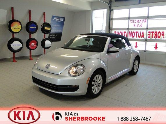 Volkswagen Beetle Convertible 2013 COMFORTLINE *CUIR*A/C*CRUISE*MAGS*