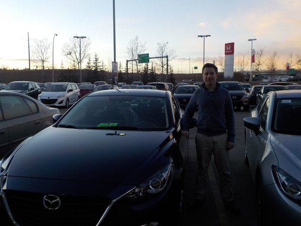 Everyone was professional, honest and friendly. I am glad I purchased my vehicle here, and would recommend Kramer Mazda
