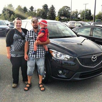 Nous recommandons Mazda de Sherbrooke à tout le monde!