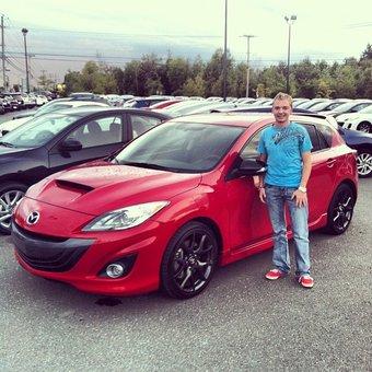Je remercie Mazda de Sherbrooke pour le bon service!