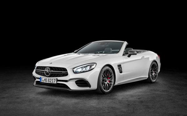 Mercedes-Benz dévoile une version améliorée de la SL