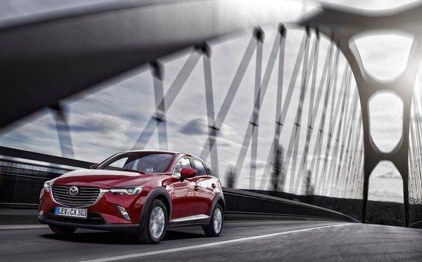 Le Mazda CX-3 finaliste pour le titre de Véhicule utilitaire de l'année