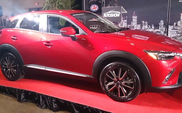 Le Mazda CX-3 2016 est le Véhicule utilitaire canadien de l'année