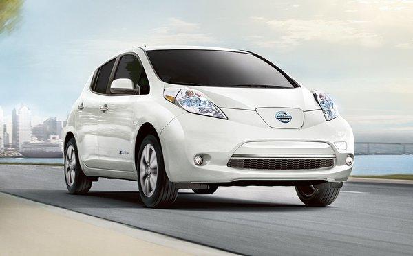 Les voitures électriques et la Nissan Leaf en pleine croissance