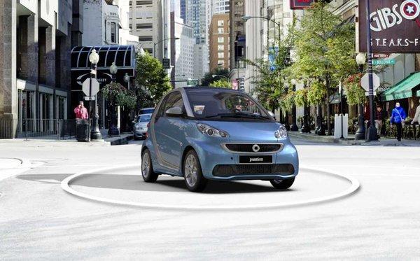 Smart Fortwo 2014 – Pour se faciliter la vie en ville