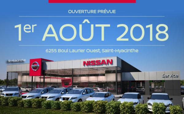 Nissan St-Hyacinthe déménage!