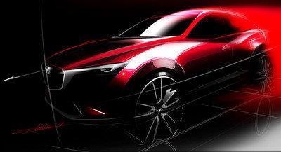 Mazda dévoilera le CX-3 à Los Angeles