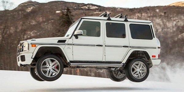 Un Mercedes-Benz G63 blindé à plus d'un million de dollars