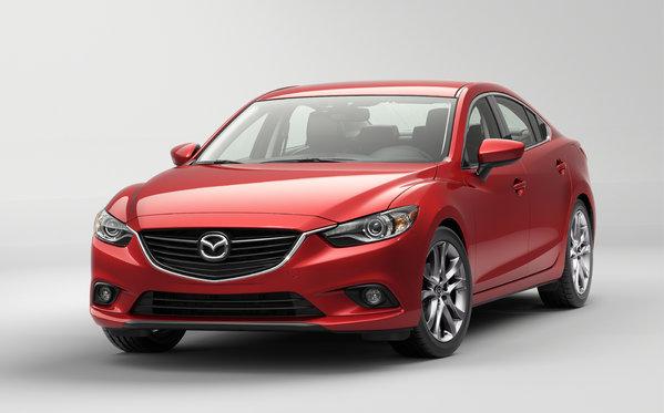 L'attente est terminée! La Mazda6 2014 est arrivée!