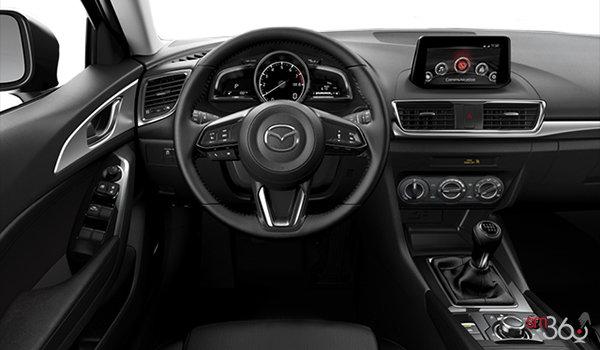 Mazda3 sport gx 2017 place l exaltation de conduire et bien d autres sensations vendre for Mazda 3 2017 hatchback interior