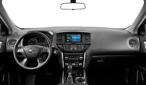 Nissan Pathfinder Sv 2017 Le Nouveau Visage De La Robustesse Vendre Sherbrooke Nissan De