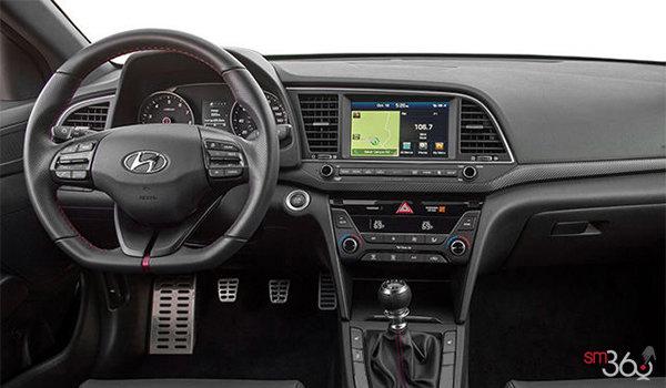Hyundai elantra sport tech 2018 puissance et pr cision vendre magog hyundai magog for Hyundai elantra interior colors