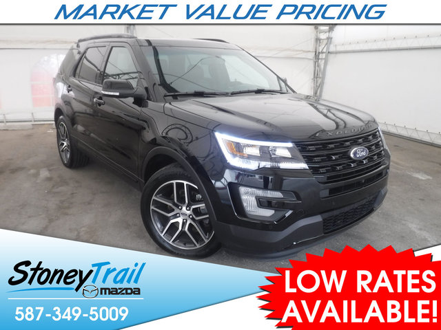 2016 Ford Explorer Sport - CLEAN & LOCAL HISTORY! 2 SETS TIRES!