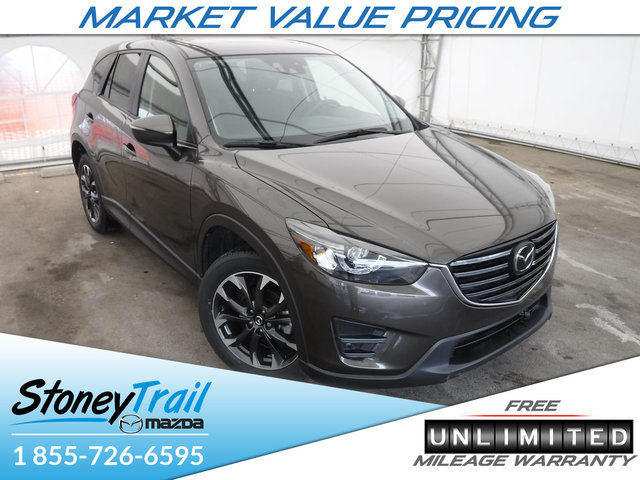 2016 Mazda CX-5 GT TECH AWD - 2016.5 MODEL CLEAROUT! NAV! LEATHER!