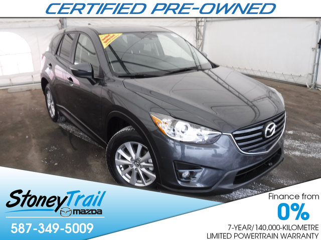 2016 Mazda CX-5 GS-L AWD - CERTIFIED PRE-OWNED!