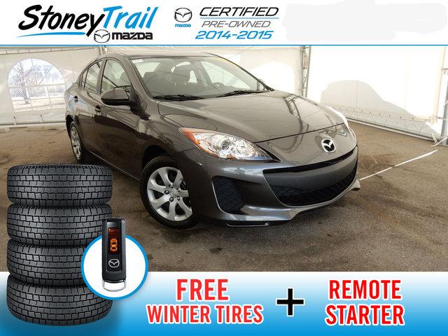 Perfect 2013 Mazda Mazda3 GX 7 YEAR WARRANTY / FREE WINTER TIRES / FREE REMOTE START