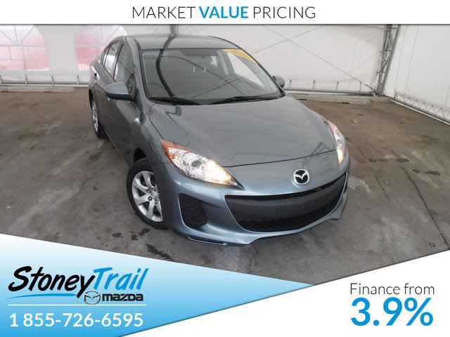 2013 Mazda Mazda3 GX - LOCAL AB TRADE IN! CLEAN CARPROOF!
