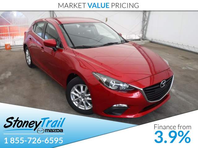 2014 Mazda Mazda3 GS-SKY SPORT - 6 SPEED MANUAL! HEATED SEATS!