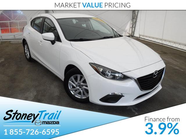 2014 Mazda Mazda3 GX SPORT - ONE OWNER! LOCAL CARPROOF!